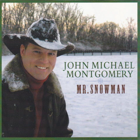 John Michael Montgomery - Mr. Snowman - CD - The CD Exchange