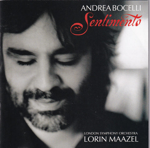 Andrea Bocelli - Sentimento - CD - The CD Exchange
