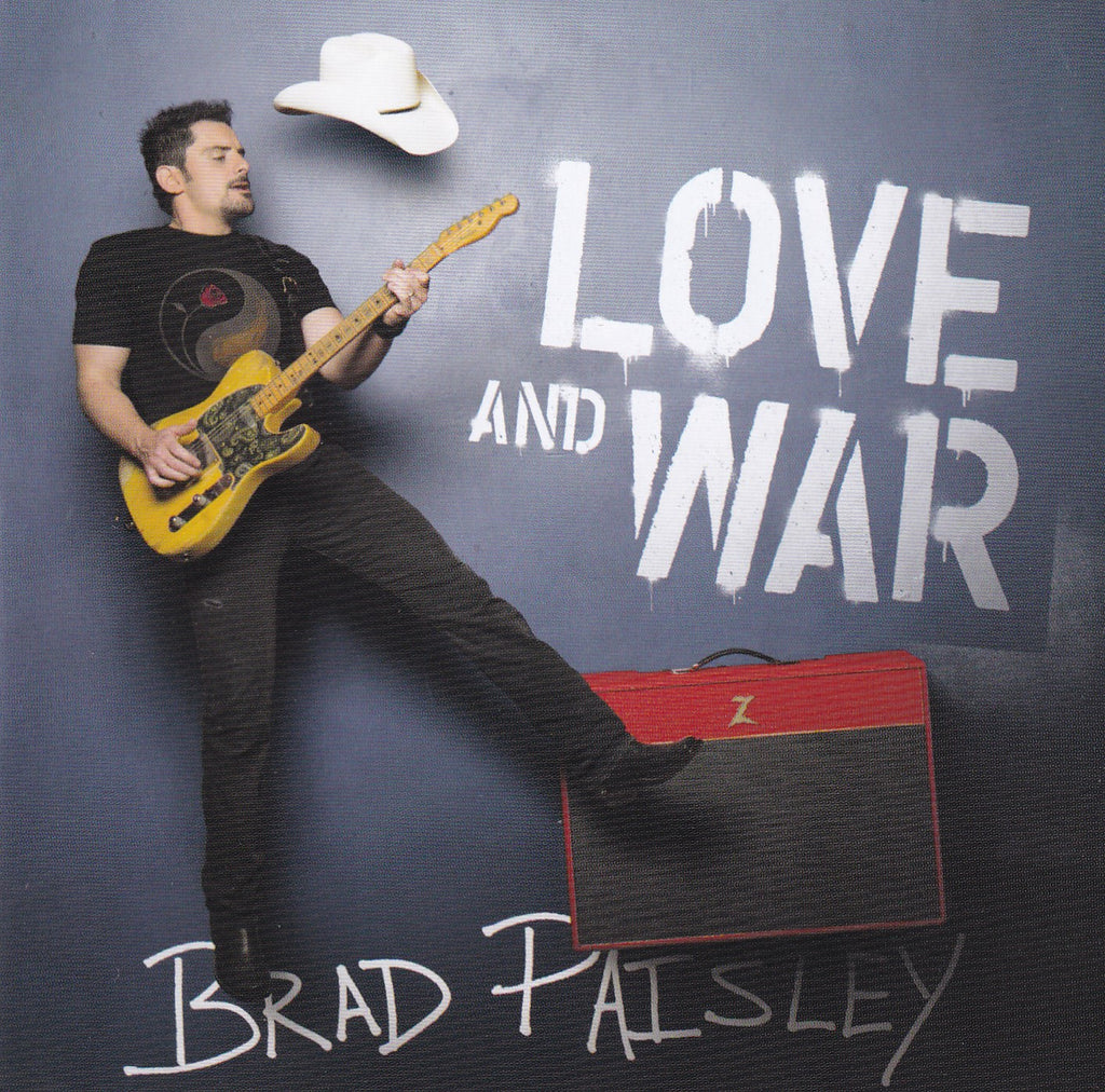 Brad Paisley - Love And War - Used Country Music CD - The CD Exchange