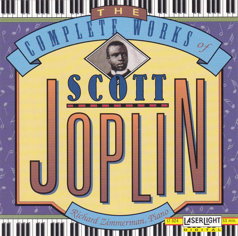 Scott Joplin ‎- The Complete Works of Scott Joplin - CD - The CD Exchange