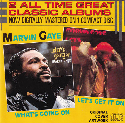 Marvin Gaye - What's Going On / Let's Get It On - CD - The CD Exchange