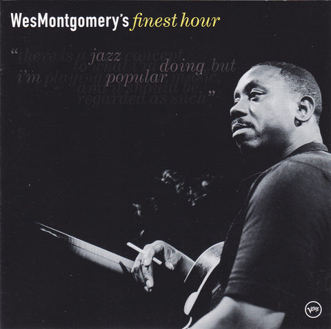 Wes Montgomery ‎- Wes Montgomery's Finest Hour - CD