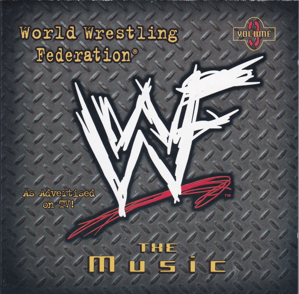 Soundtrack - (WWF) WWE The Music, Vol. 3 - CD - The CD Exchange