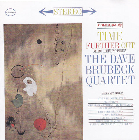 The Dave Brubeck Quartet ‎- Time Further Out - CD