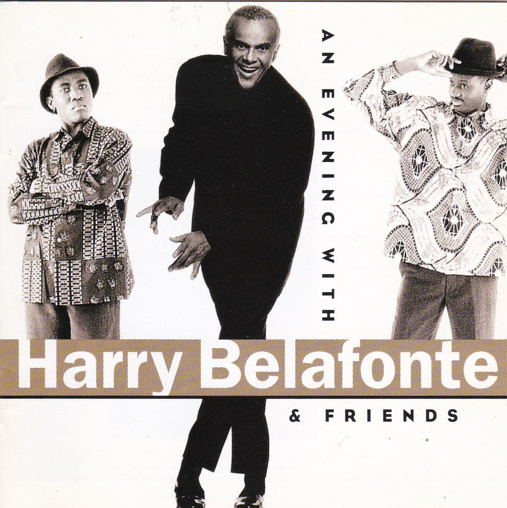 Harry Belafonte - Evening with Harry Belafonte & Friends - Clearance CD - The CD Exchange