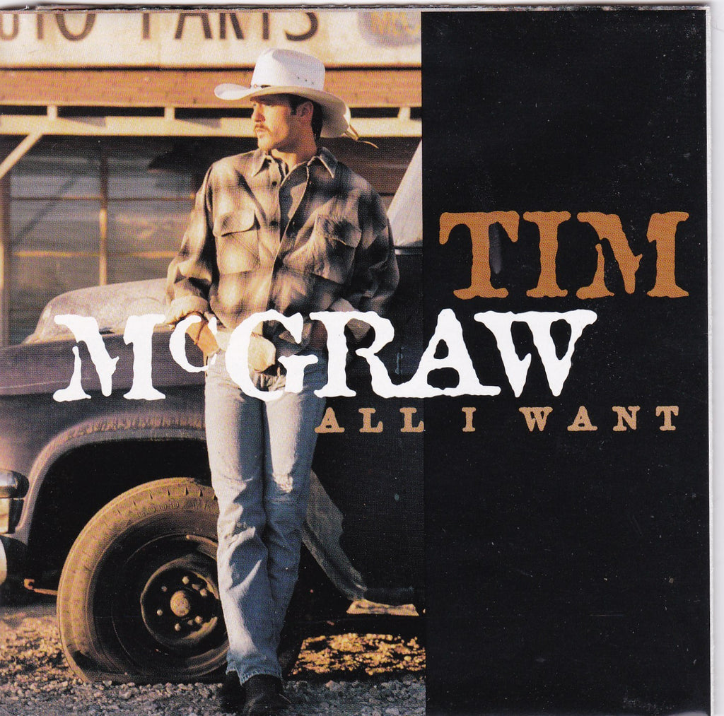 Tim Mcgraw - All I Want - CD - The CD Exchange