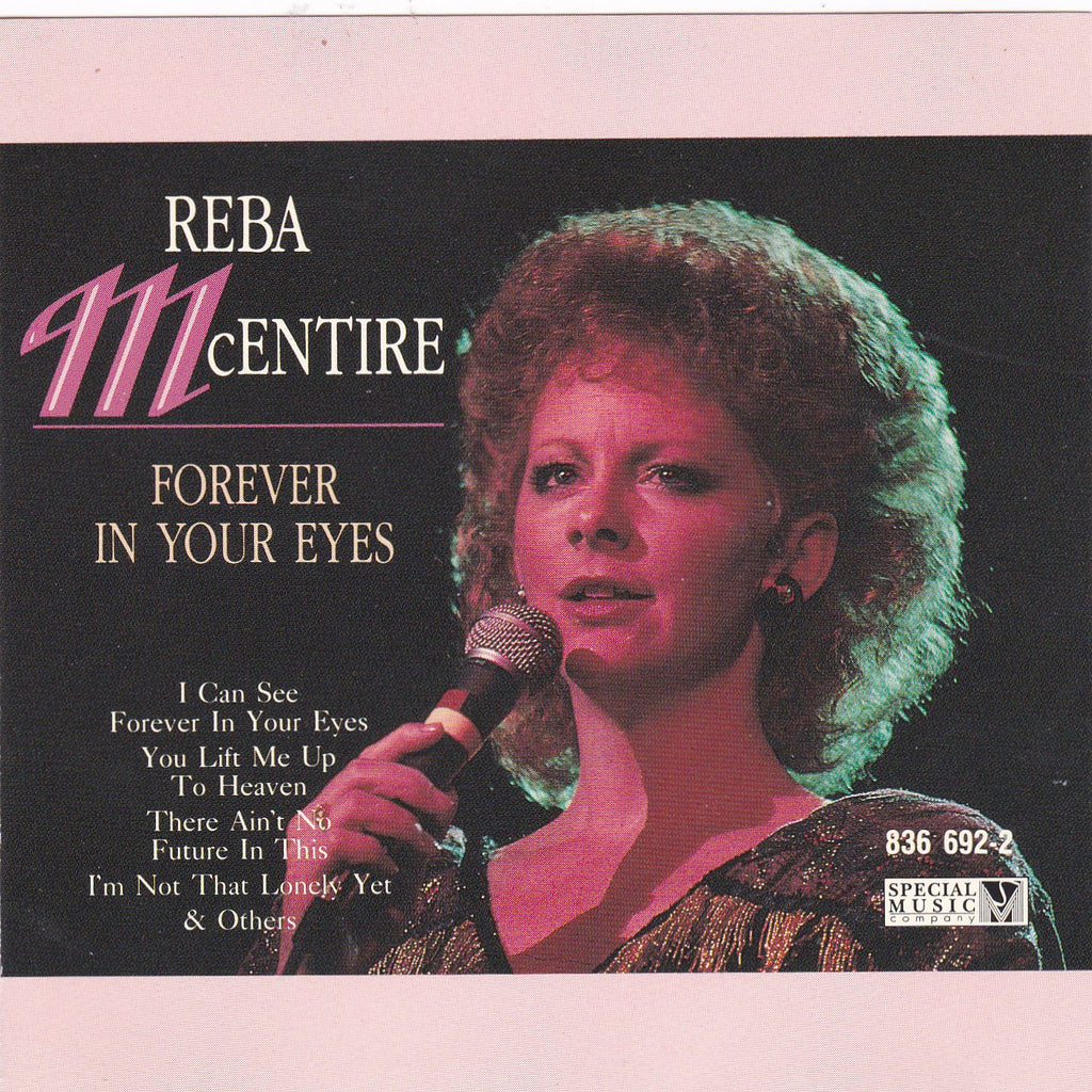 Reba McEntire - Forever In Your Eyes - CD - The CD Exchange