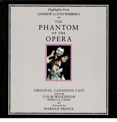 Soundtrack - Highlights Phantom of the Opera - CD,The CD Exchange