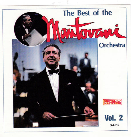 Mantovani - The Best of the Mantovani Orchestra Vol. 2 - CD - The CD Exchange