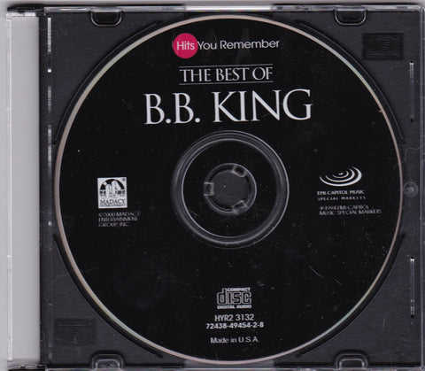 B.B. King - The Best Of - Clearance CDs,The CD Exchange