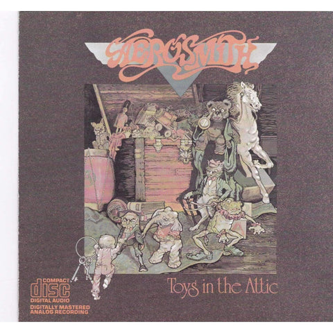 Aerosmith - Toys In The Attic - Used CD,The CD Exchange