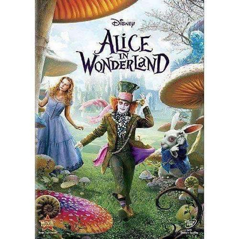 DVD | Alice In Wonderland (2010),Widescreen,The CD Exchange