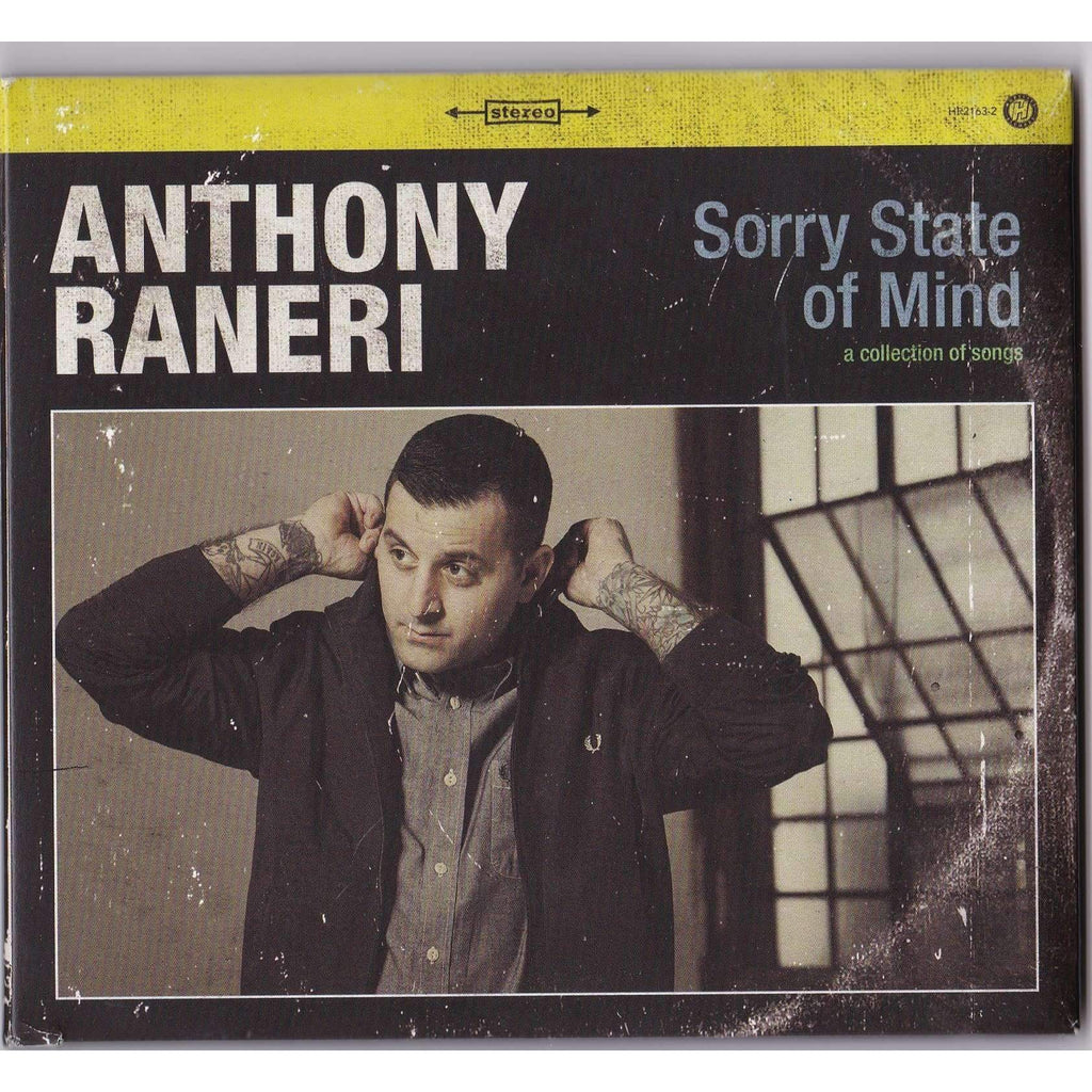 Anthony Raneri - Sorry State Of Mind - Used CD - The CD Exchange