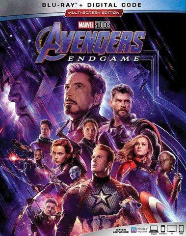 Avengers Endgame (Blu-ray + Digital) - The CD Exchange