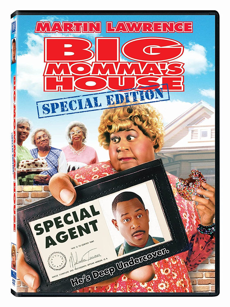 DVD - Big Momma's House (Fullscreen) - The CD Exchange