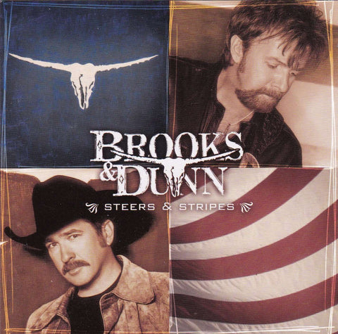 Brooks & Dunn - Steers & Stripes - Used CD,The CD Exchange