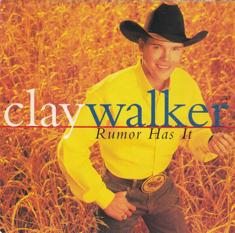 Clay Walker - Rumor Has It - CD,CD,The CD Exchange