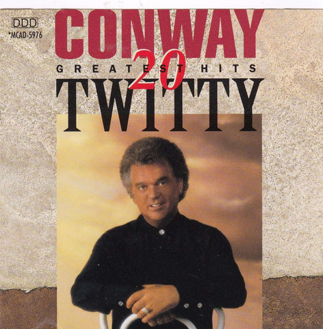 Conway Twitty - 20 Greatest Hits - CD,The CD Exchange