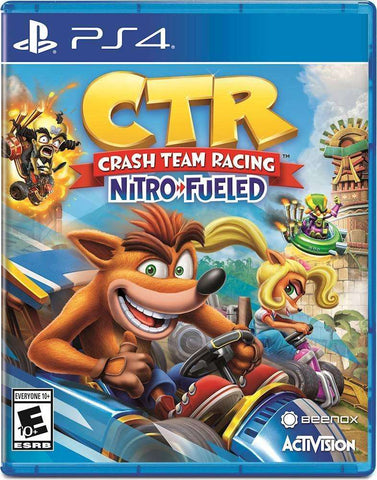 Crash Team Racing Nitro-Fueled - PlayStation 4,The CD Exchange