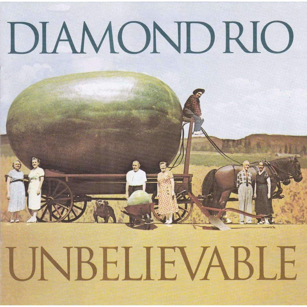 Diamond Rio | Unbelievable | Used Country Music CD,The CD Exchange