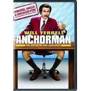 DVD - Anchorman (Unrated Widescreen) - Used,,The CD Exchange