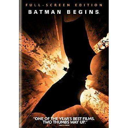 DVD | Batman Begins (Fullscreen),Fullscreen,The CD Exchange