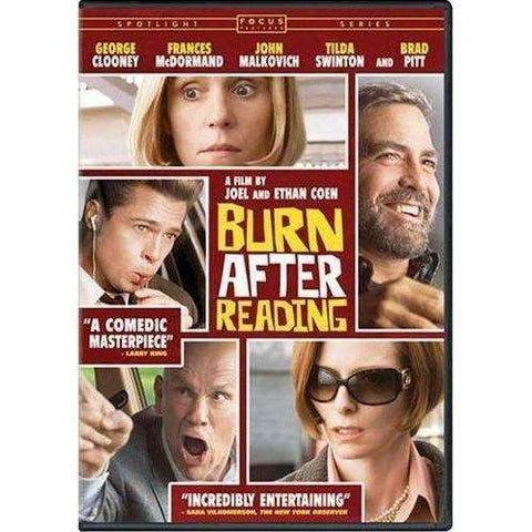 DVD | Burn After Reading,Widescreen,The CD Exchange