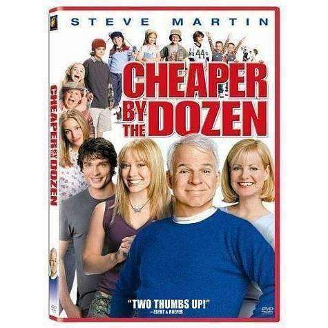 DVD - Cheaper By The Dozen - Used - The CD Exchange
