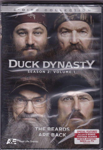DVD - Duck Dynasty: Season 2 Volume 1 - New DVD,,The CD Exchange