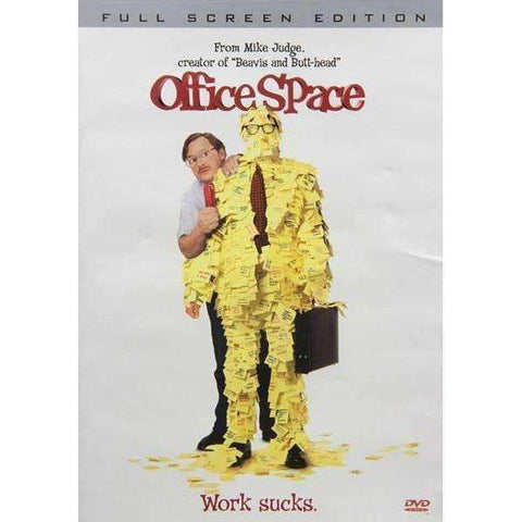 DVD - Office Space (Fullscreen Special Edition) - Used,,The CD Exchange