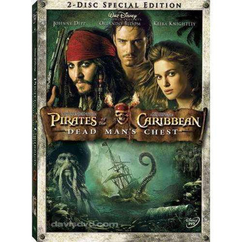 DVD | Pirates Of The Caribbean: Dead Man's Chest (2-Disc Special Edition),Widescreen,The CD Exchange