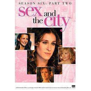 DVD - Sex And The City: Season 6 - Part Two - Used DVD - The CD Exchange