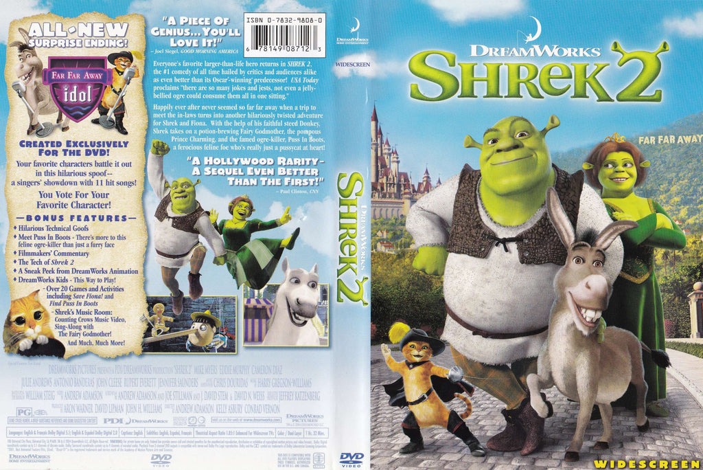 DVD - Shrek 2 (Widescreen) - Used - The CD Exchange