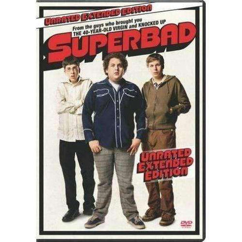 DVD - Superbad (Unrated Extended Edition) - Used,,The CD Exchange