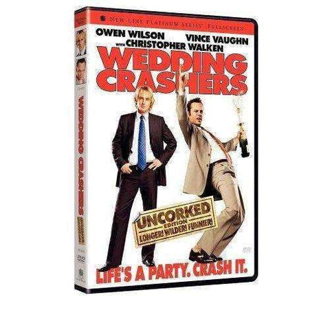 DVD - Wedding Crashers (Uncorked Unrated Fullscreen) - Used,,The CD Exchange
