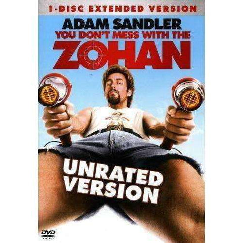 DVD - You Don't Mess With The Zohan (Unrated) - Used,,The CD Exchange
