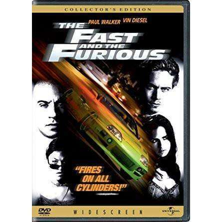 DVD | Fast And The Furious (2001),Widescreen,The CD Exchange