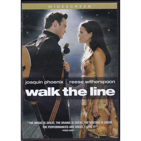DVD - Walk The Line - Widescreen Movie - The CD Exchange