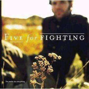Five For Fighting - The Battle For Everything - Used CD - The CD Exchange