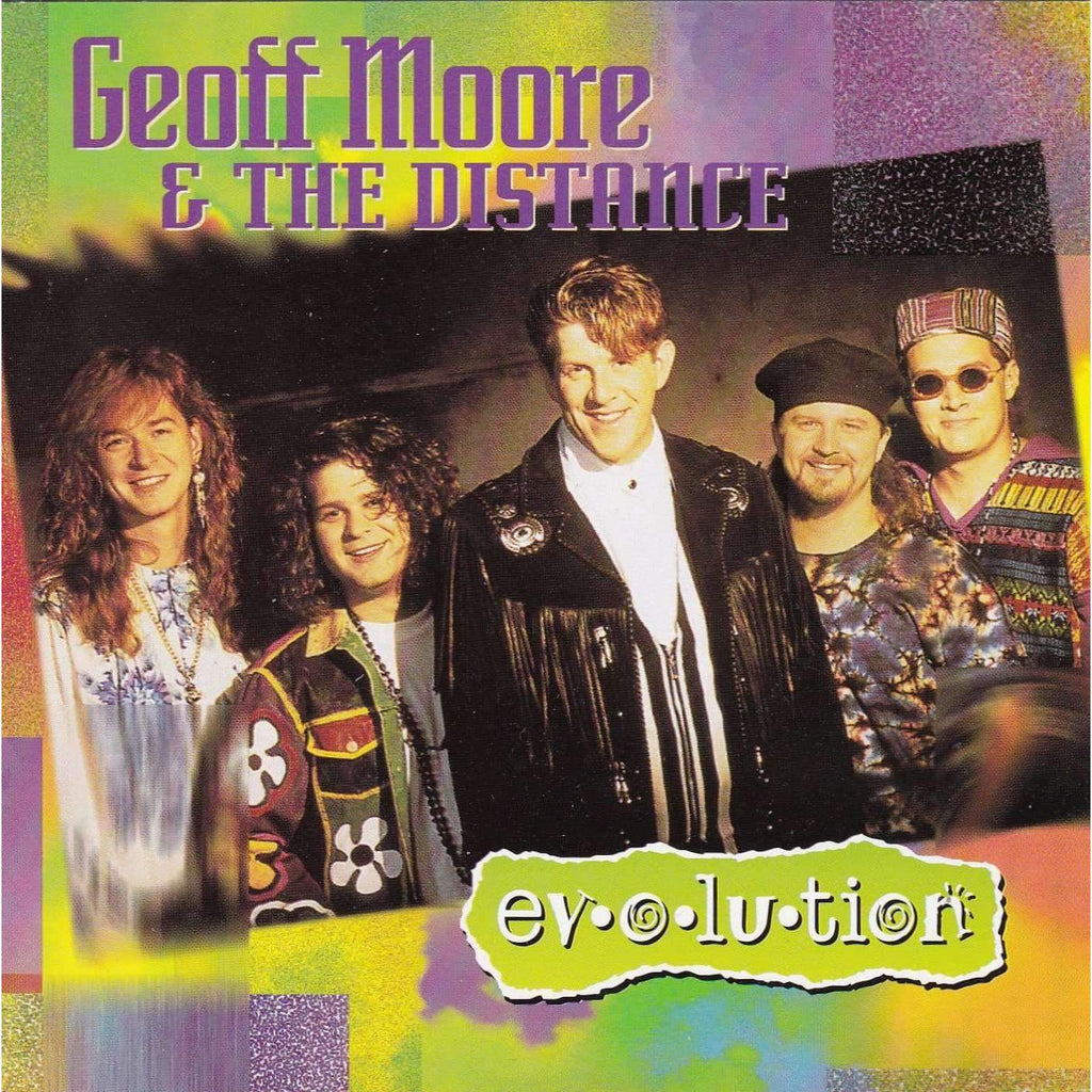 Geoff Moore & The Distance - Evolution - Music CD,The CD Exchange