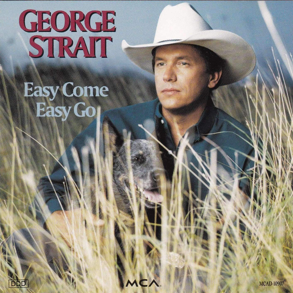 George Strait - Easy Come Easy Go - Music CD - The CD Exchange