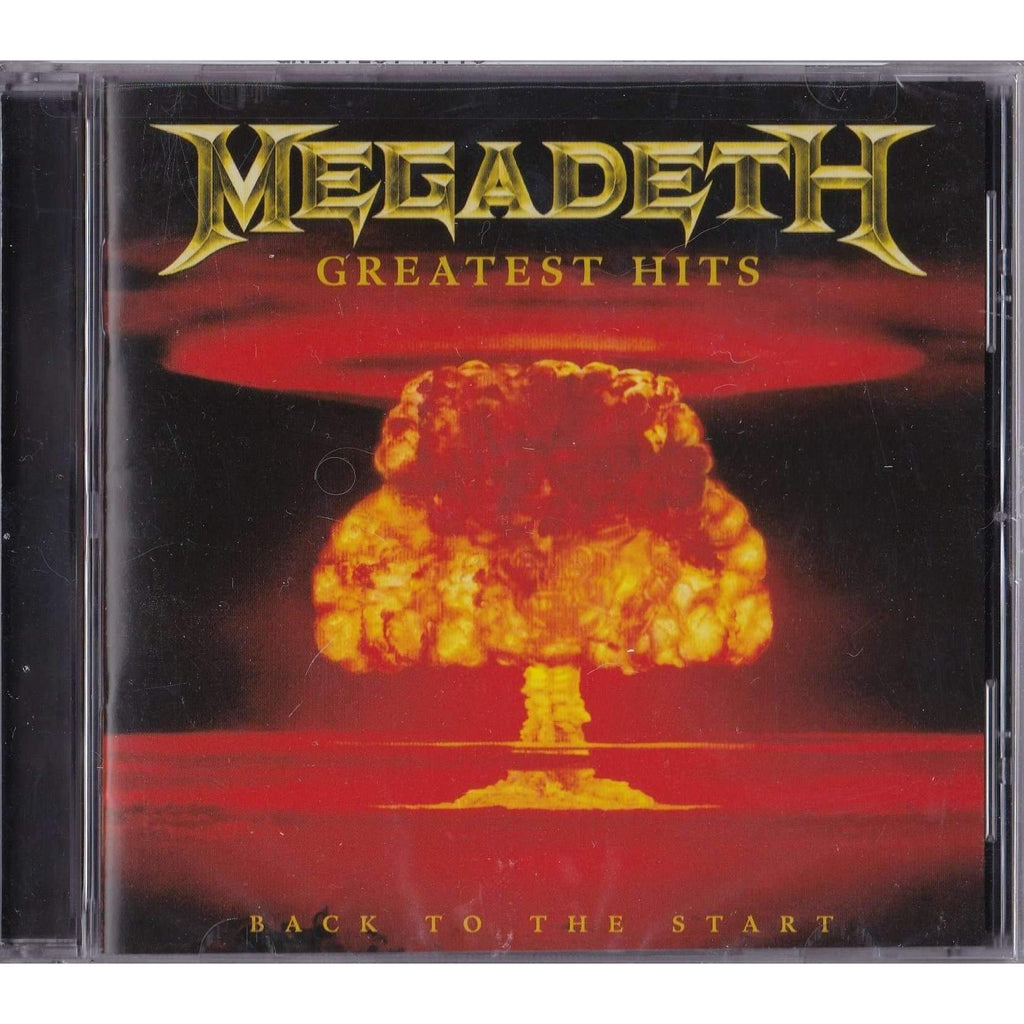 Greatest Hits: Back to the Start | Megadeth | New Music CD,The CD Exchange