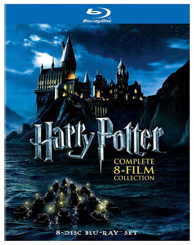 Harry Potter: Complete 8-Film Collection - Blu-ray,The CD Exchange