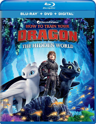 How to Train Your Dragon: The Hidden World - Blu-ray,The CD Exchange