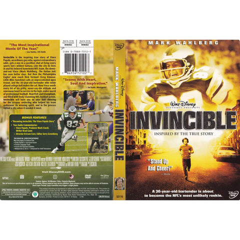 DVD - Invincible - Used,The CD Exchange