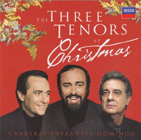 Jose Carreras, Placido Domingo, Luciano Pavarotti - The Three Tenors At Christmas - Used CD,The CD Exchange