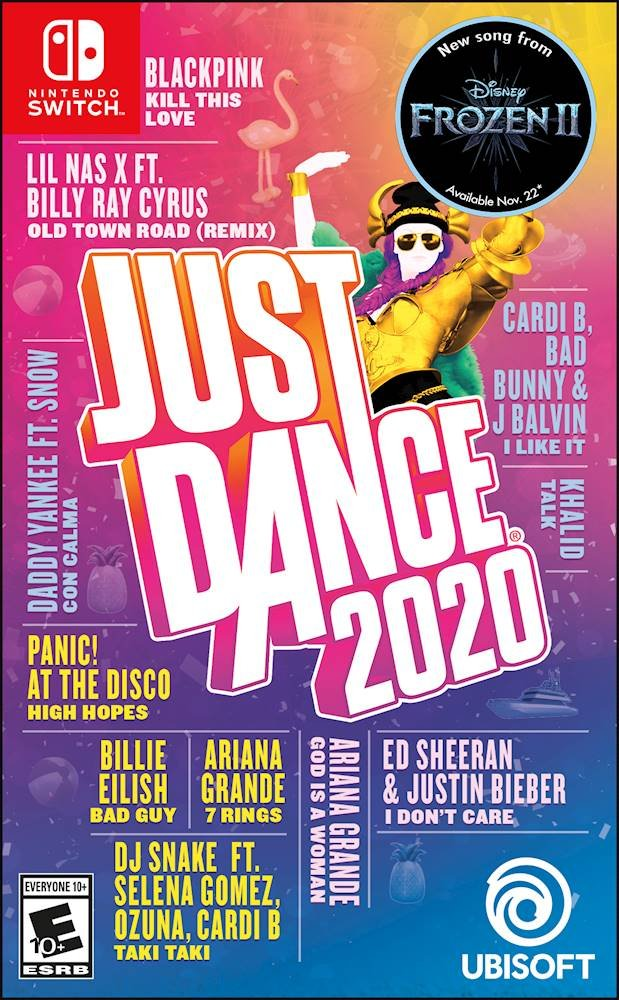 Just Dance 2020 Standard Edition - Nintendo Switch - The CD Exchange