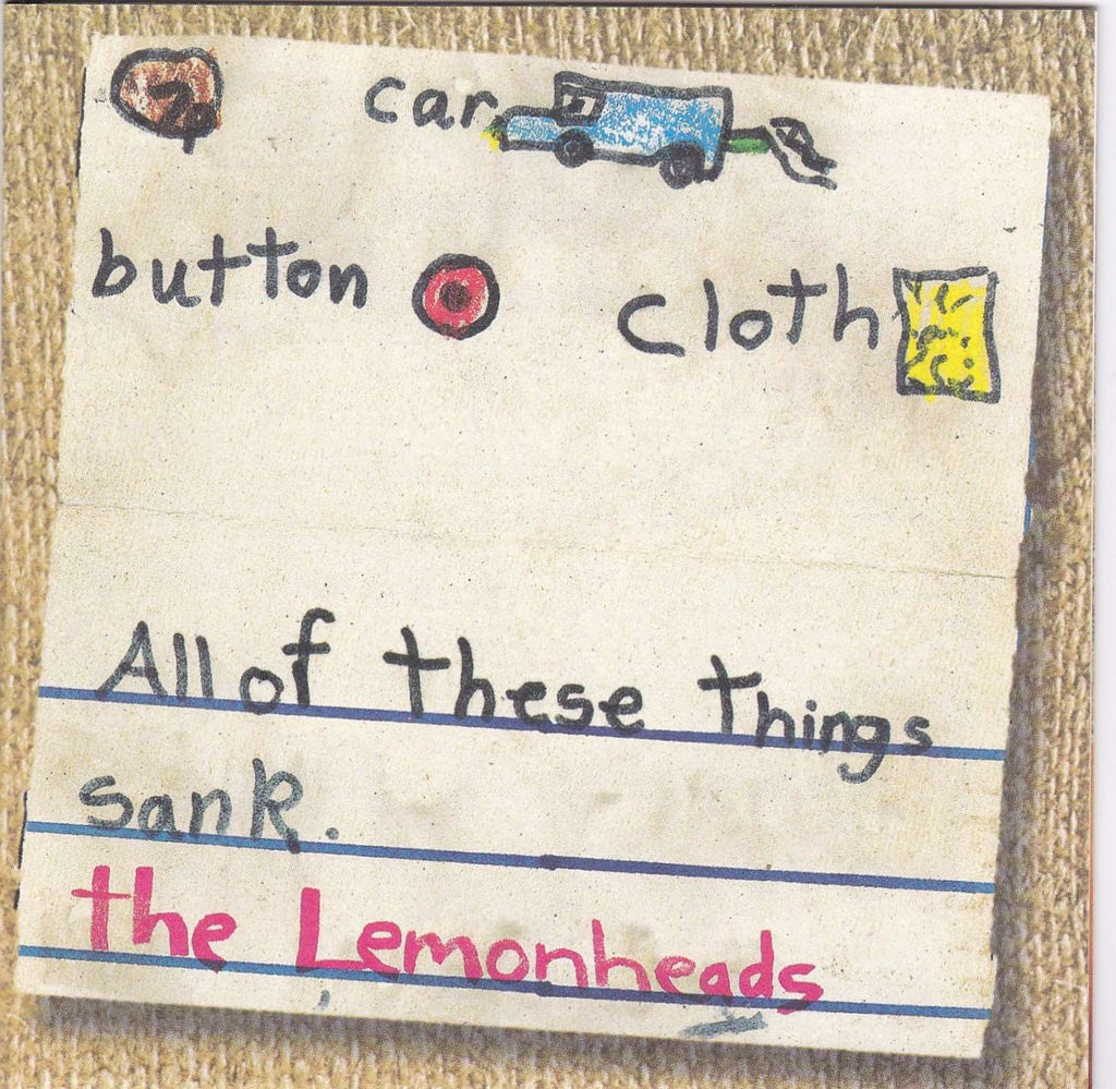Lemonheads - Car Button Cloth - Used CD - The CD Exchange