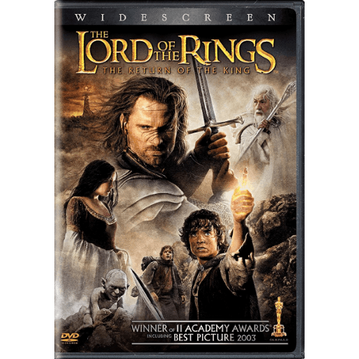 DVD | Lord Of The Rings: The Return Of The King (2-disc Widescreen),Widescreen,The CD Exchange
