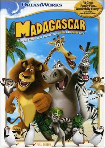 DVD - Madagascar (Fullscreen) - The CD Exchange